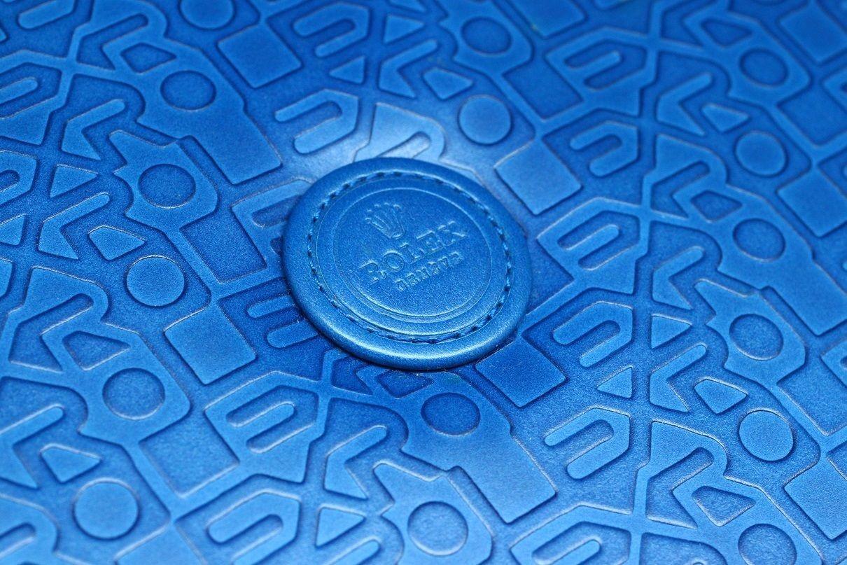 ROLEX GENUINE VINTAGE JEWELRY WATCH BLUE BOX NOS THE FINER THINGS TT